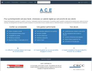 fiduciairecomptable92.fr screenshot