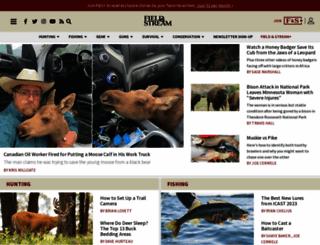 fieldandstream.com screenshot