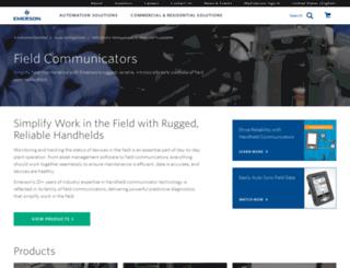 fieldcommunicator.com screenshot