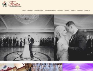 fiestabanquets.com screenshot