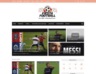 fiestafootball.org screenshot