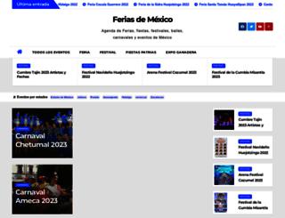 fiestasdemexico.com screenshot