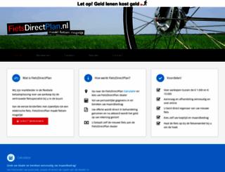 fietsdirectplan.nl screenshot