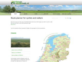 fietsenwandelweb.nl screenshot