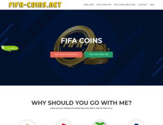 fifa-coins.net screenshot