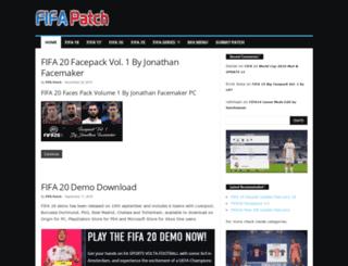 fifa-patch.com screenshot