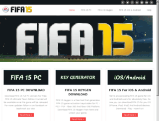 fifa15free.com screenshot