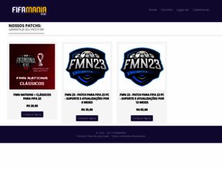 fifamaniashop.com.br screenshot