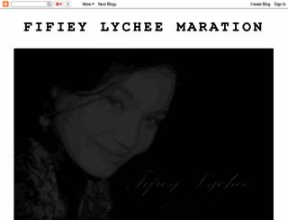 fifieylycheemaration.blogspot.com screenshot