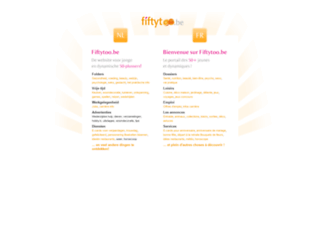 fiftytoo.be screenshot