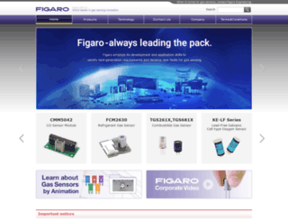 figarosensor.com screenshot