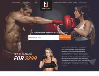 fight2fitness.net screenshot