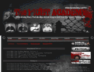 fightacademy.blogspot.com screenshot