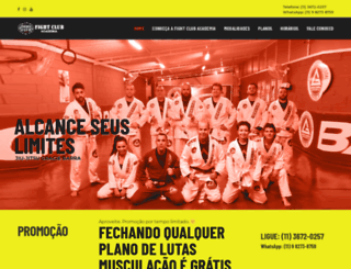 fightclubbr.com.br screenshot