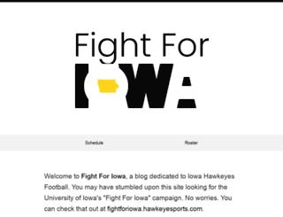 fightforiowa.com screenshot