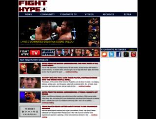 fighthype.com screenshot