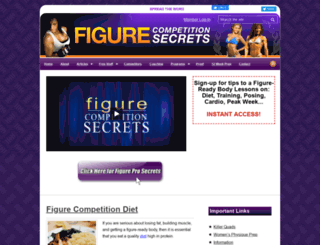 figurecompetitionsecrets.com screenshot