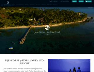 fijiresort.com screenshot