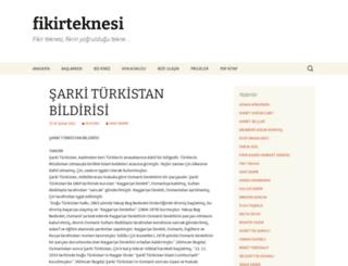 fikirteknesi.com screenshot