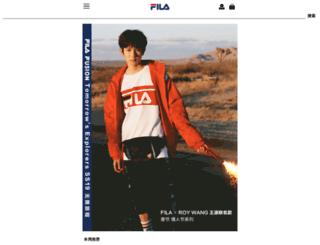 fila-china.com.cn screenshot