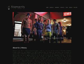 filaments.com screenshot