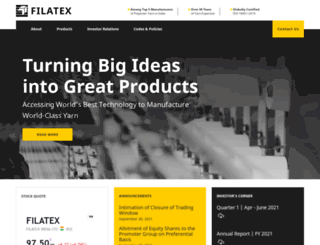 filatex.com screenshot