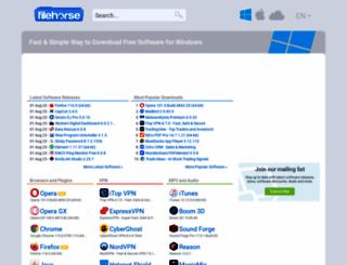 filehorse.com screenshot