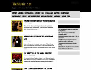 filemusic.net screenshot