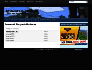 files.minecraft-mods.de screenshot