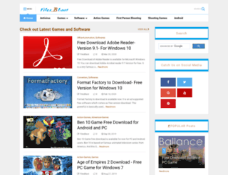 filesblast.net screenshot