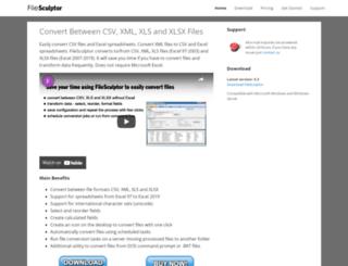 filesculptor.com screenshot