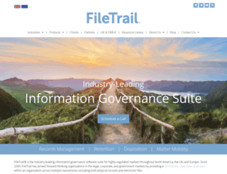 filetrail.com screenshot