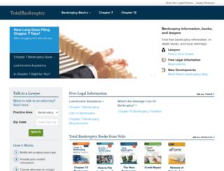 filing-bankruptcy-form.com screenshot