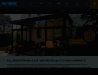 fillonneau.com screenshot