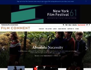 filmcomment.com screenshot