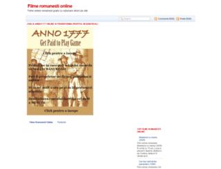 filme-online-romanesti.blogspot.com screenshot