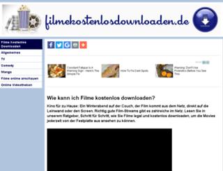 filmekostenlosdownloaden.de screenshot