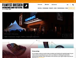 filmfest-dresden.de screenshot
