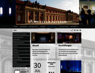filmmuseum-potsdam.de screenshot