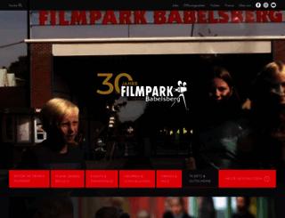 filmpark-babelsberg.de screenshot