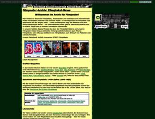 filmposter-archiv.de screenshot