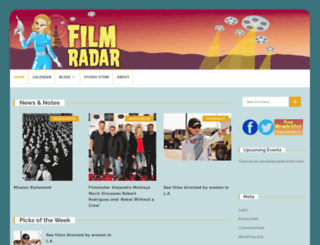 filmradar.com screenshot