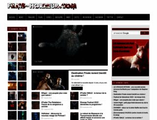 films-horreur.com screenshot