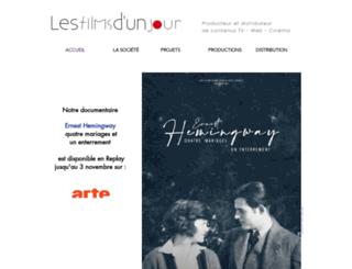 filmsdunjour.com screenshot