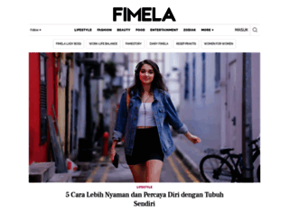 fimela.com screenshot