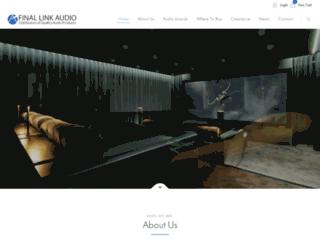 finallink.com.au screenshot