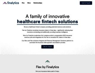 finalytics.com screenshot