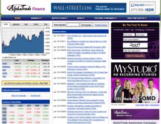 finance.alphatrade.com screenshot