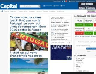finance.capital.fr screenshot