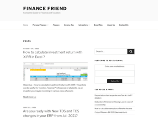 financefriend.in screenshot